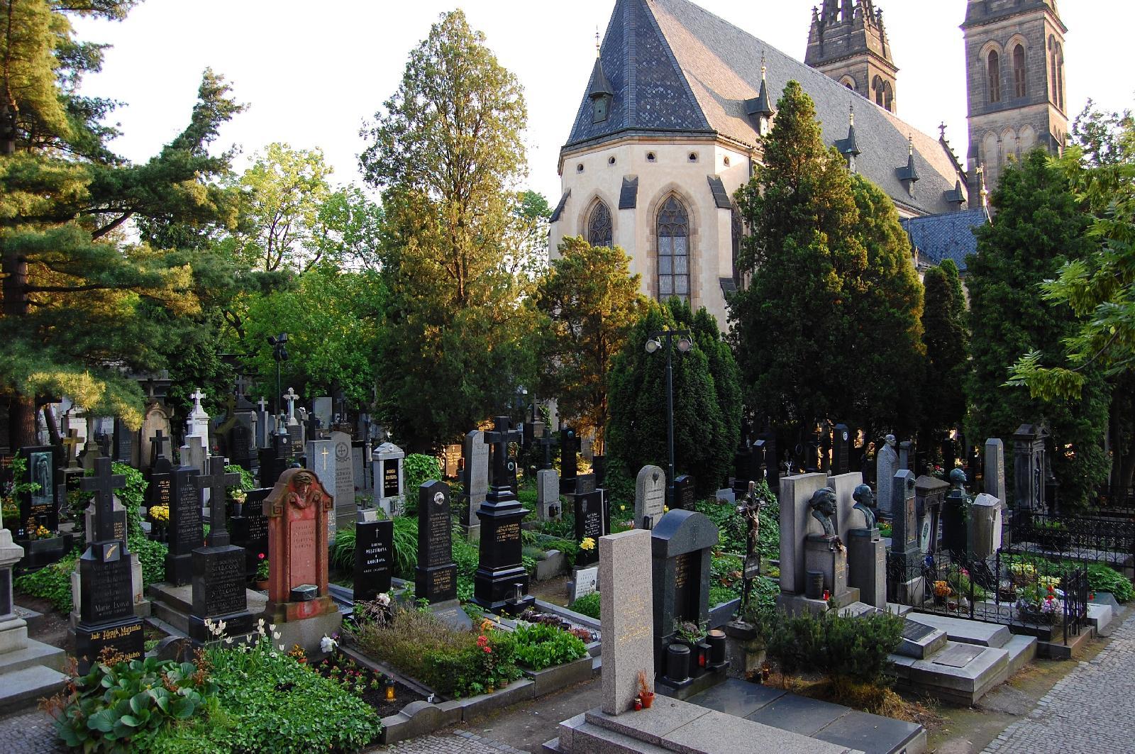 Кладбище в Вышеграде