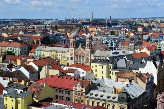 Пльзень в Чехии