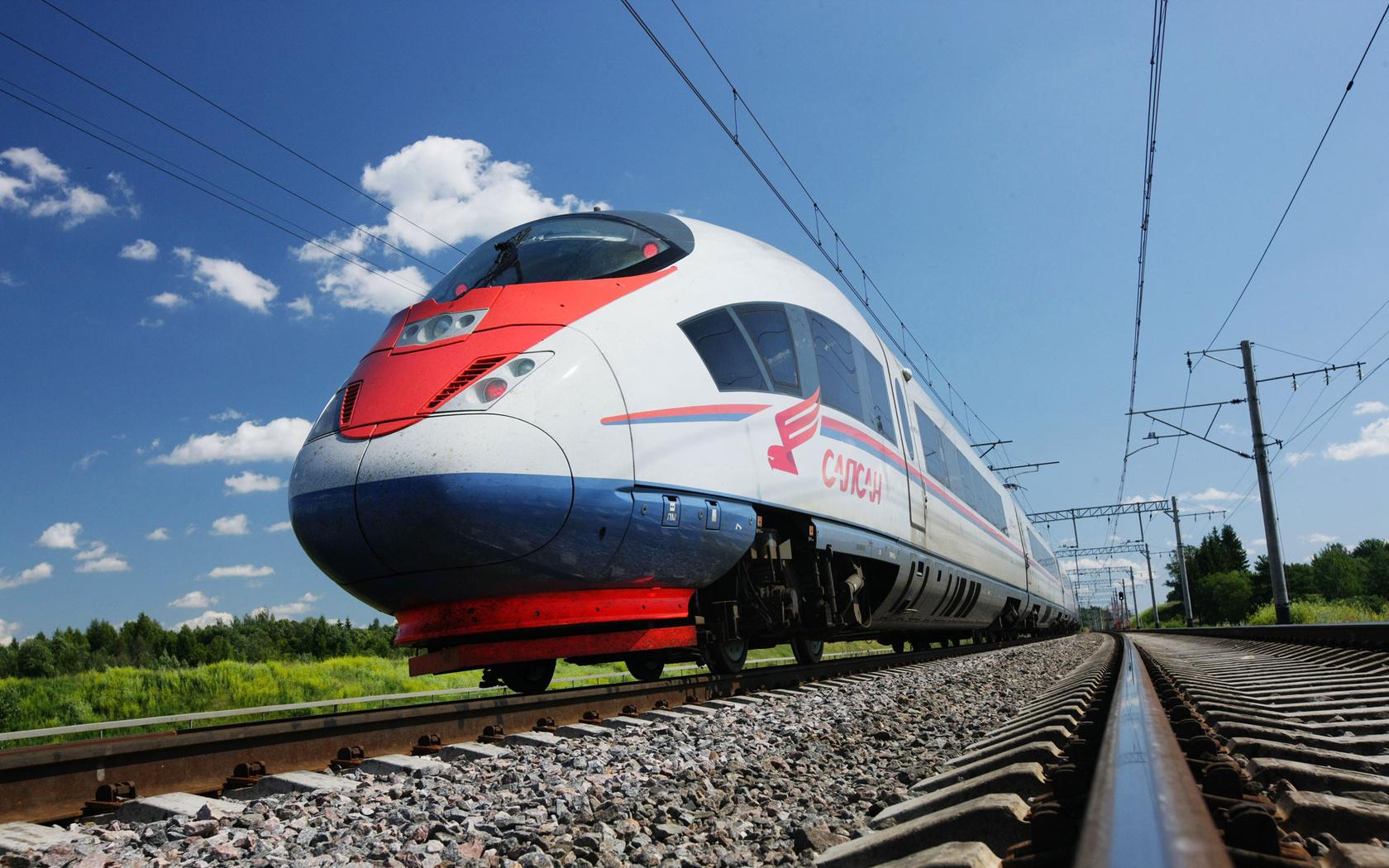 Поезд в Болгарию