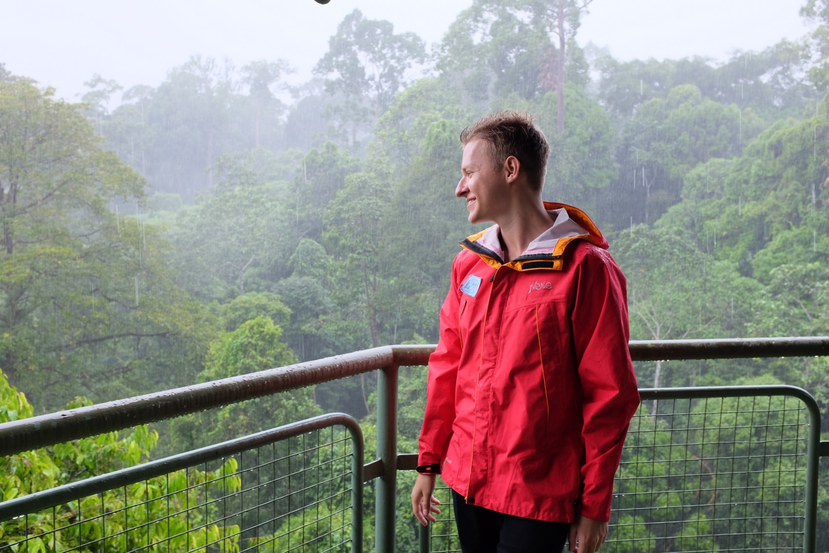 ливень на Борнео