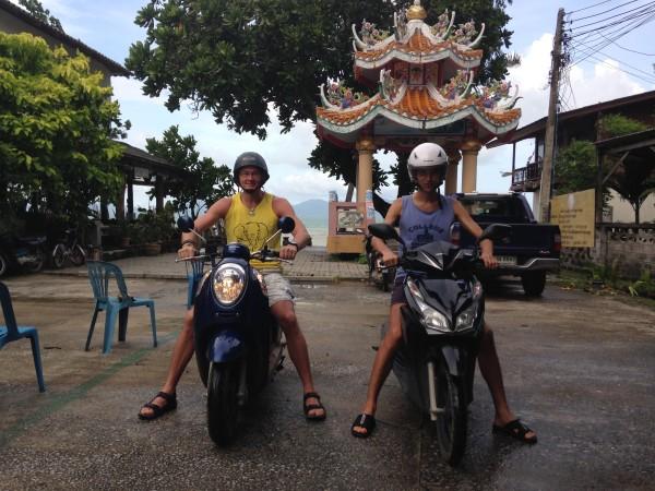 Мотобайк в Таиланде