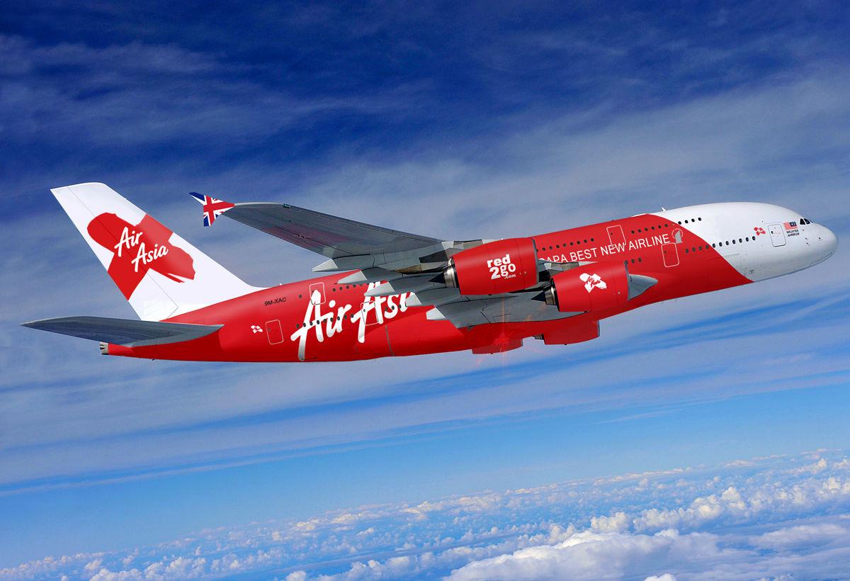 Самолет Air Asia Bali