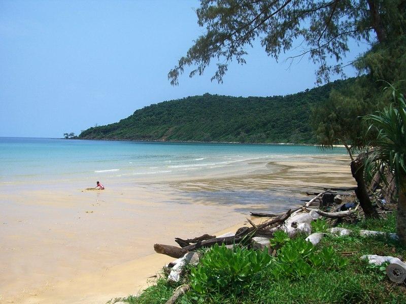 Пляж Камбоджи