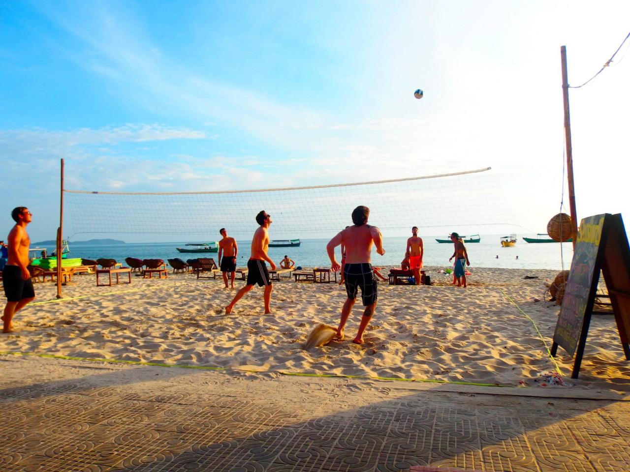 Пляж в Сиануквиле