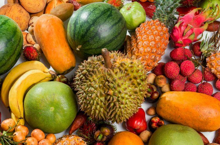 Азиатские фрукты Таиланда