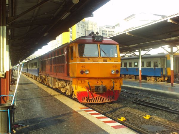 Поезд в Бангкок