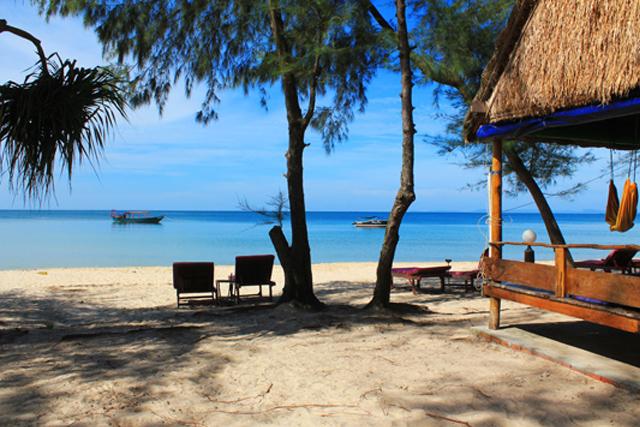 Пляж Отрес в Камбодже