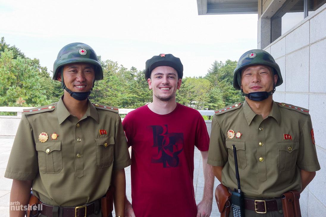 Турист в Северной Корее