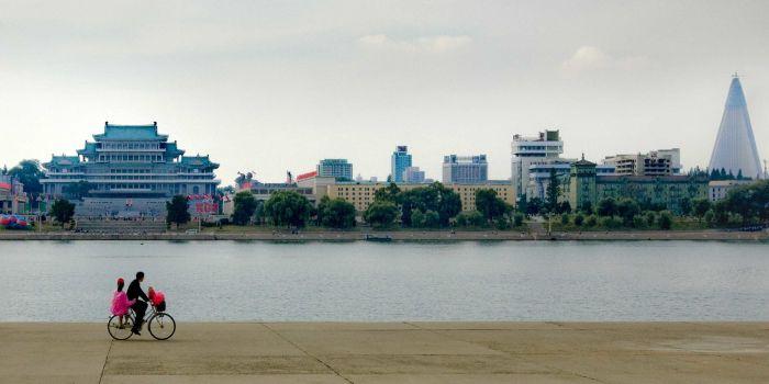 Пхеньян в Северной Корее