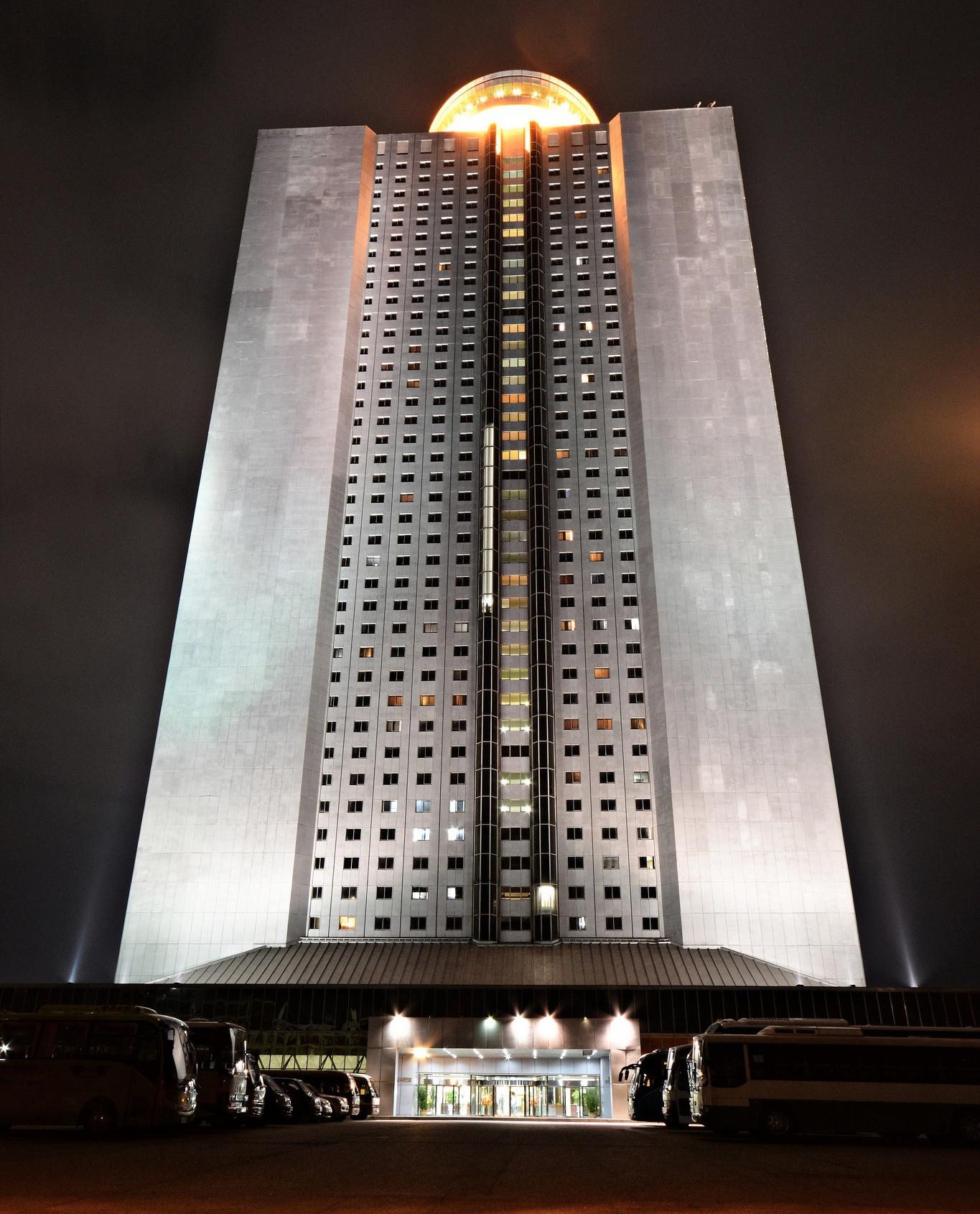 Гостиница в Корее