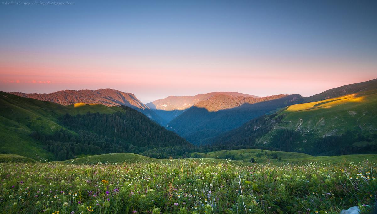 Холмы Абхазии