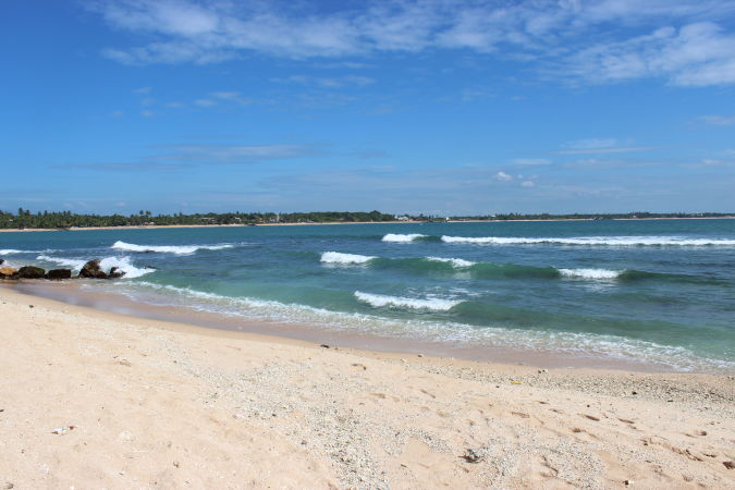 Пляж Тангалла