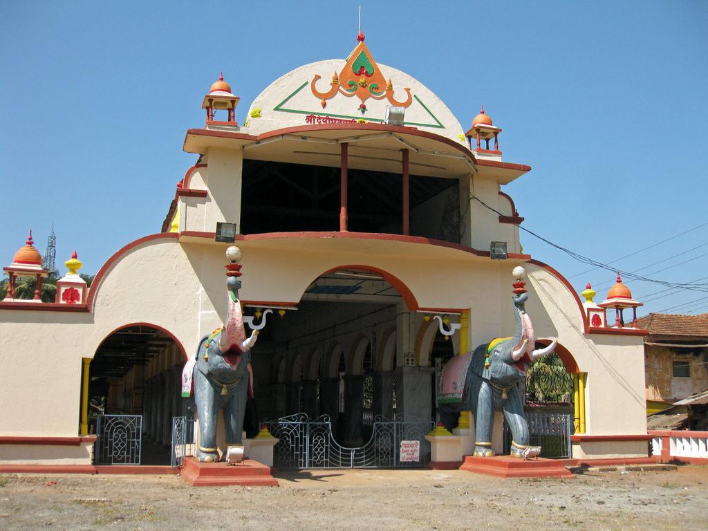 Храм Шри-Бхагвати на Гоа