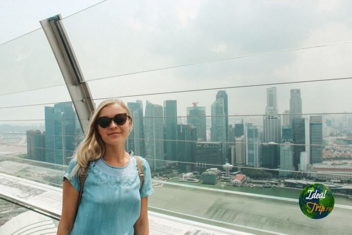 Скай парк Сингапур