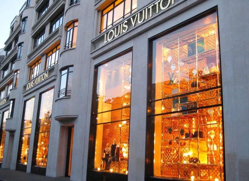 Бутики в Париже