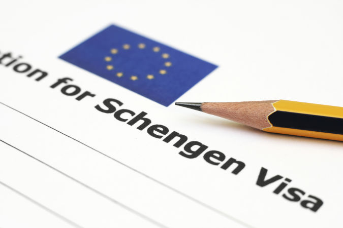Анкета для Шенгенской визы