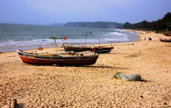 Лодка на Гоа