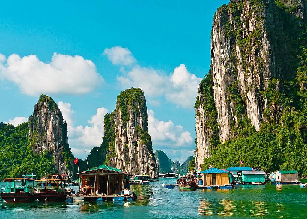 Вьетнам - деревня на воде