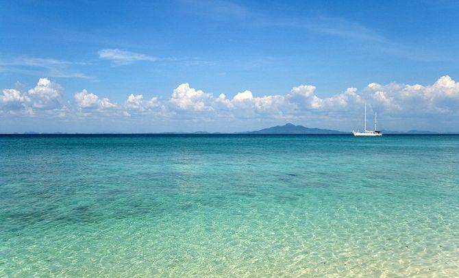 Какое море в Тайланде на Пхукете, Паттайе