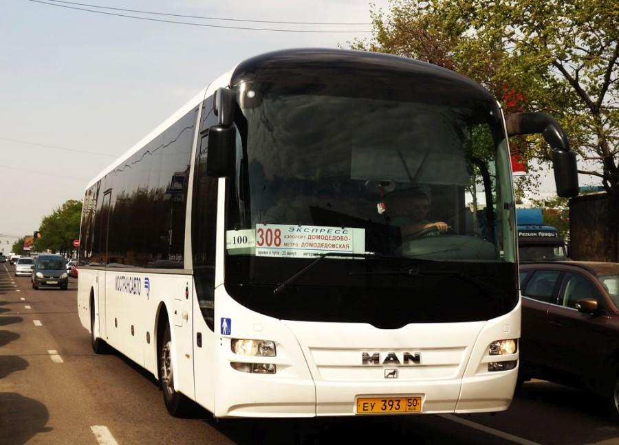 Автобус до Домодедово