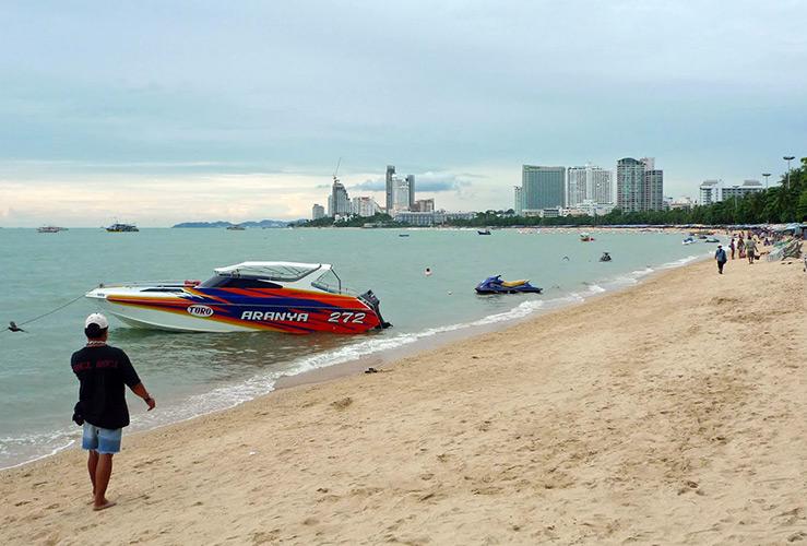 Какое море в Таиланде?