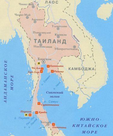 Моря Таиланда