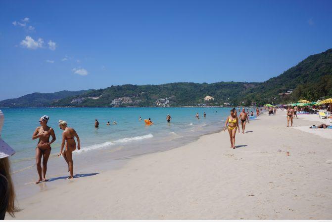 Чистота пляжа Patong