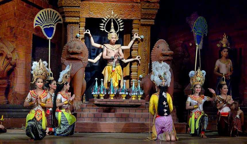 Шоу в Таиланде