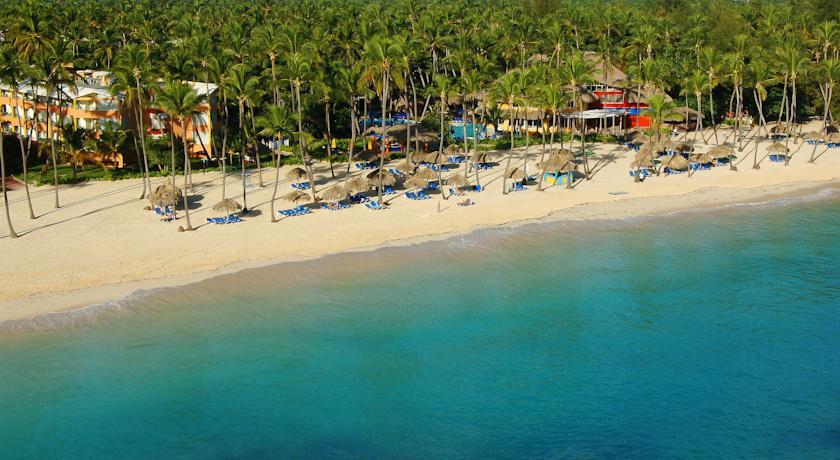Пляж отеля Санскейп Доминикана Бич