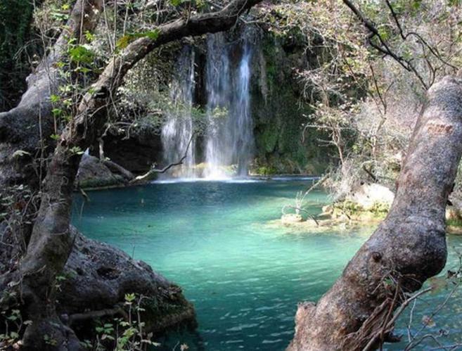 Водопад в Турции
