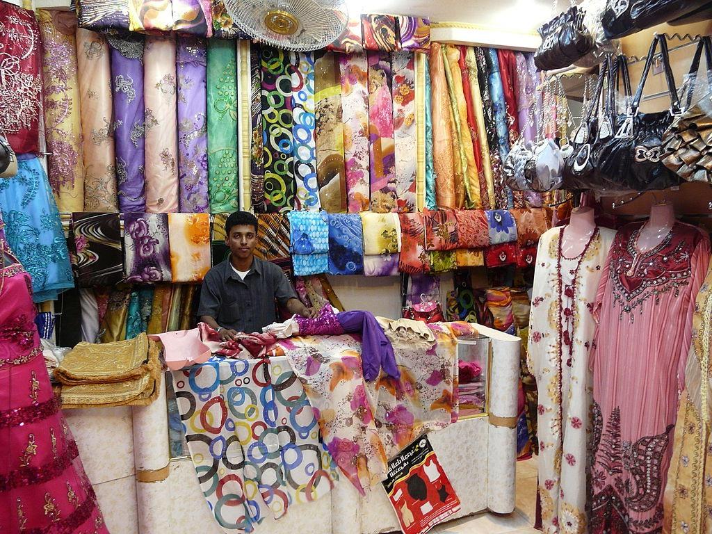 Продажа ткани во Вьетнаме
