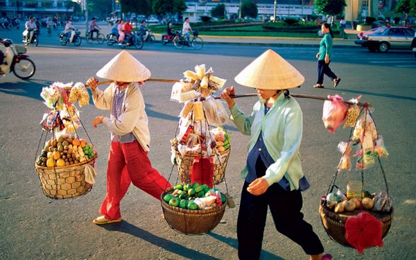 Вьетнамские торговцы