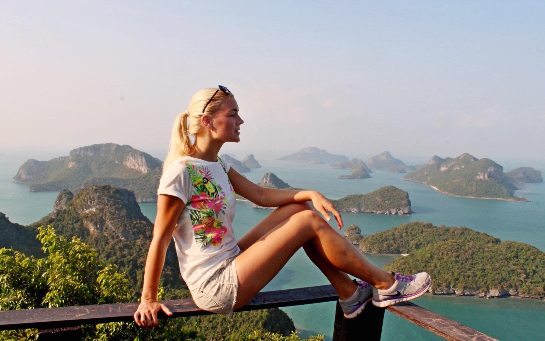 Кристина Эндлесс в Таиланде