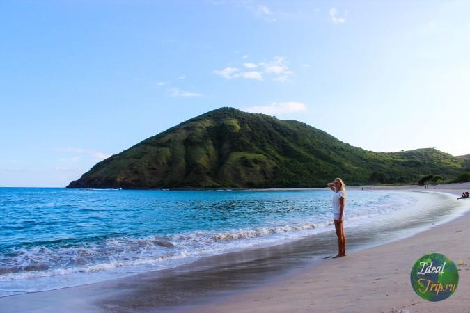 Кристина Эндлесс на пляже Мавун
