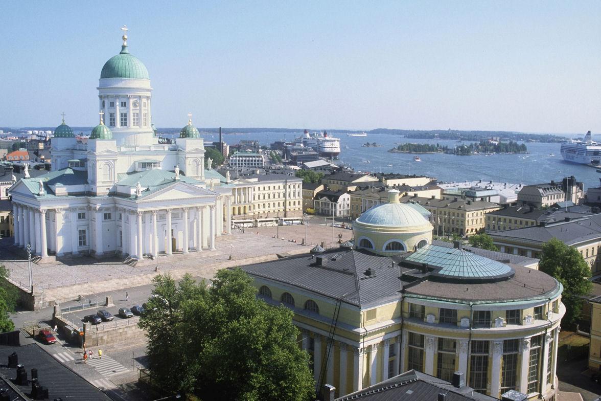 Хельсинки - кафедральный собор