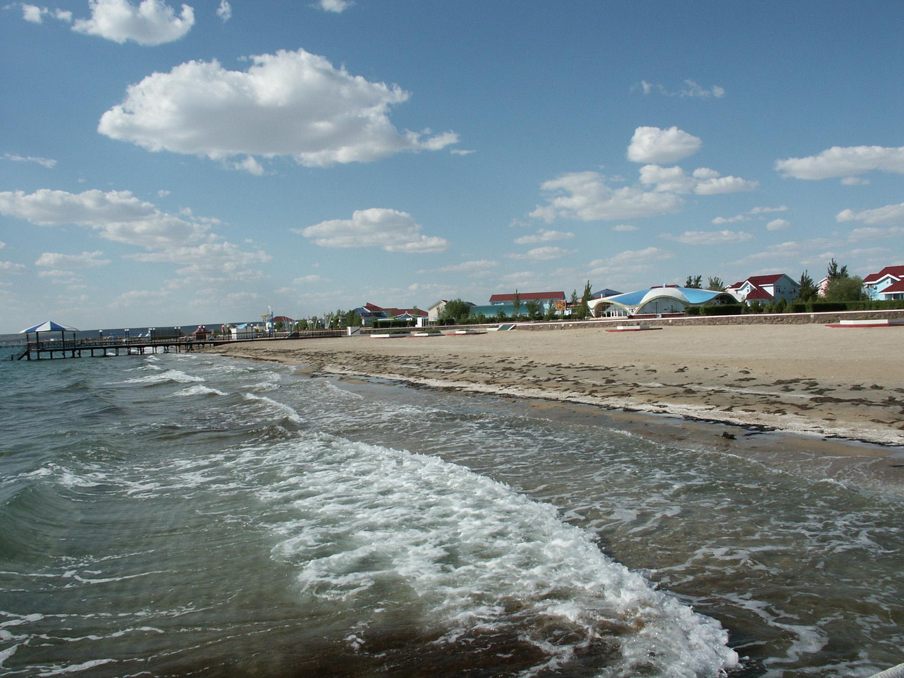 Каспийского море - курорт