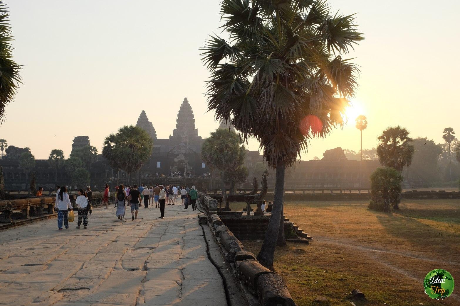 Вход в комплекс храмов Ангкор