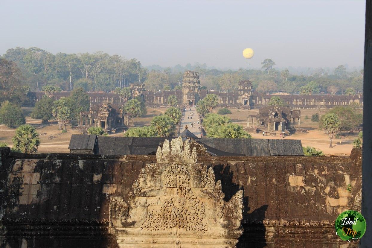 Территория комплекса Ангкор