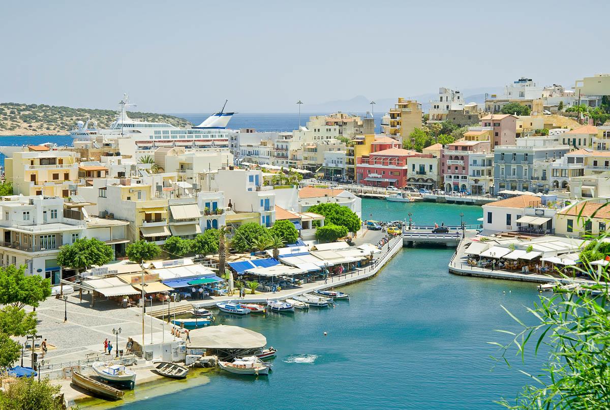Агиос николаос, Крит