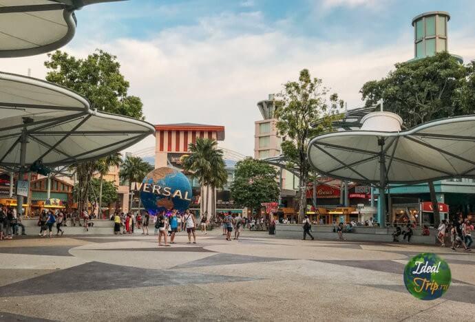 Парк развлечений Сентоза в Сингапуре