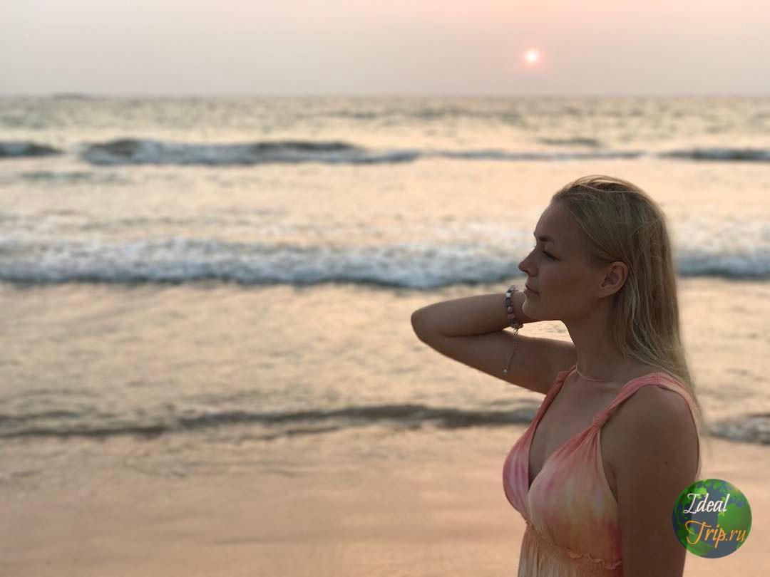 Кристина Эндлесс на Шри Ланке