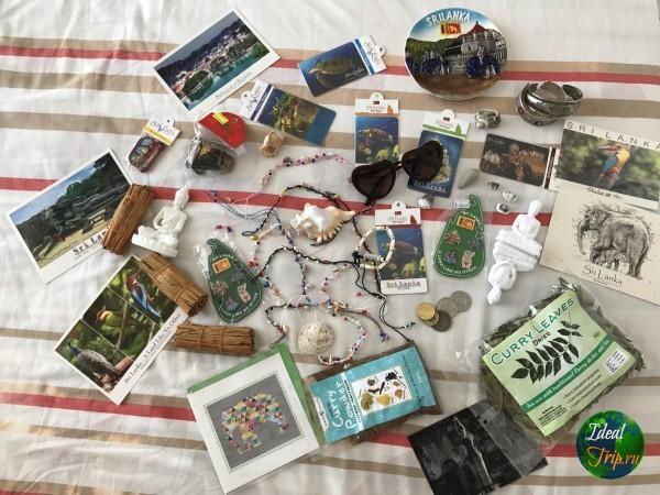 Сувениры из Шри Ланки