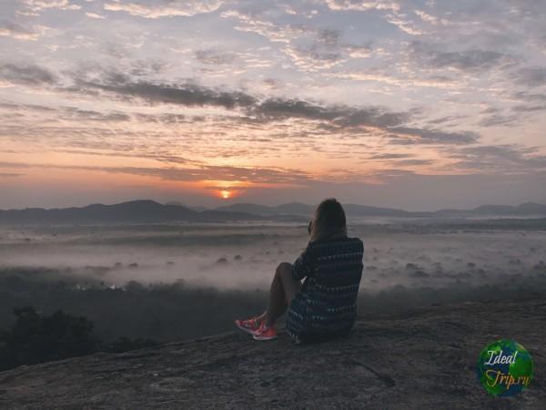 Кристина Эндлесс на горе Пидурангала