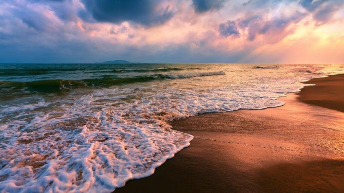 Азовское море и закат