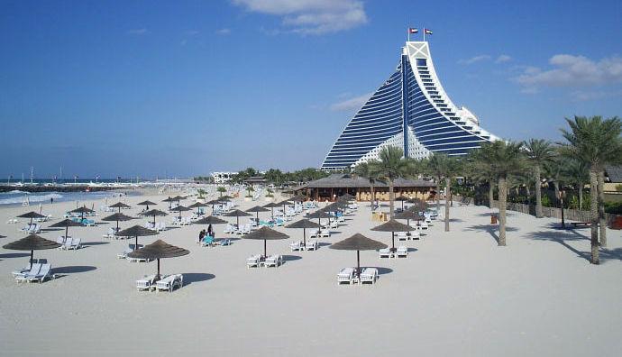 Пляж Jumeirah Open Beach