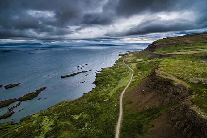 Полуостров Вестфирдир в Исландии