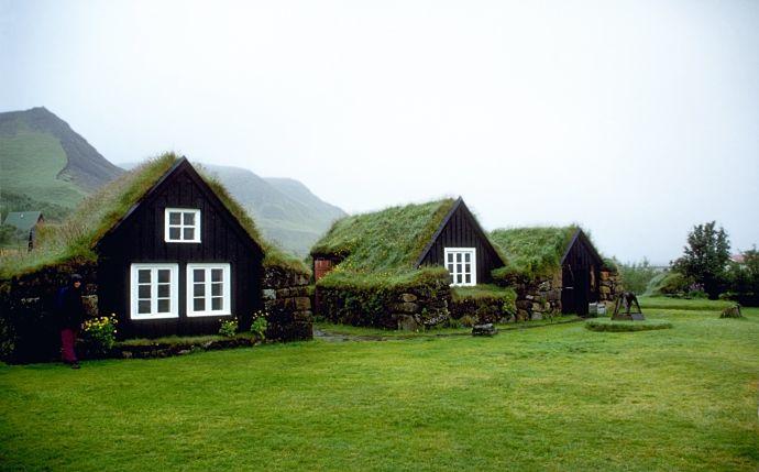 Скоугар в Исландии