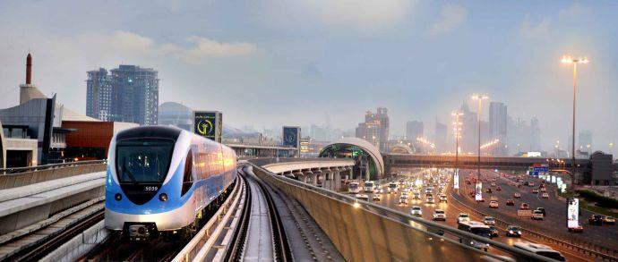 Метрополитен в Дубае