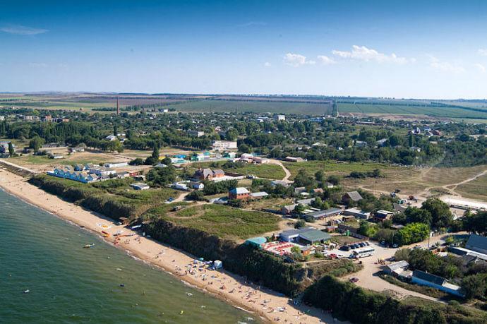 Кучугуры и Азовское море