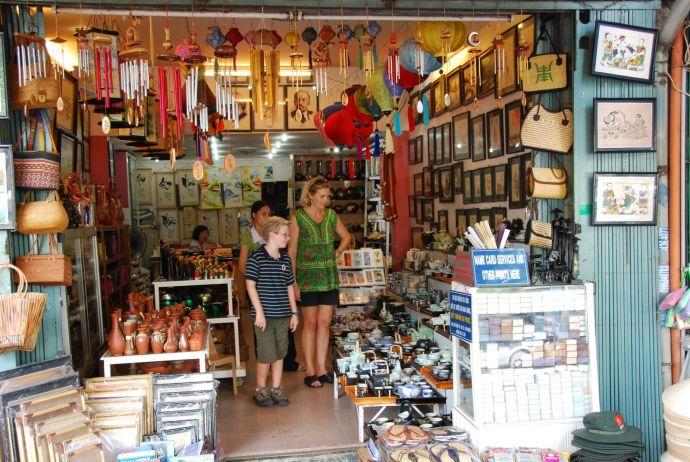 Сувенирный магазин Вьетнама